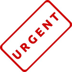 urgent report