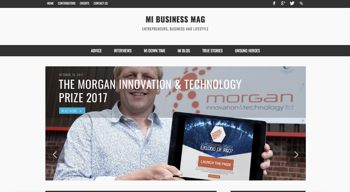 morgan IAT prize