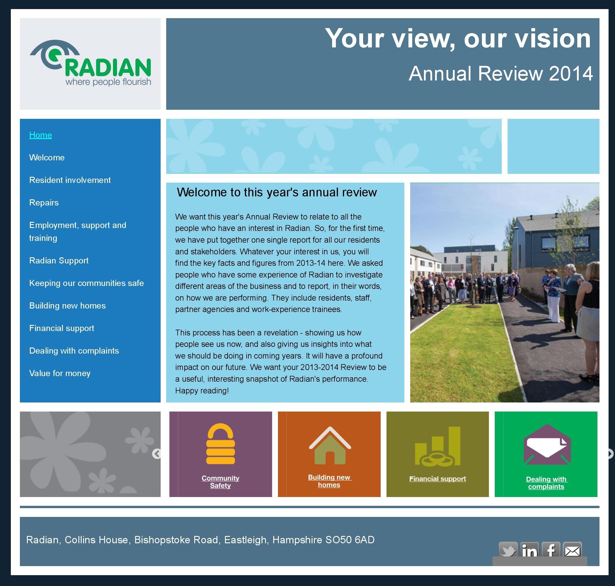 radian annual report