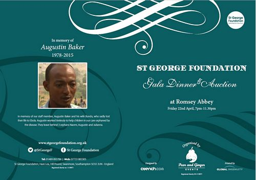 St George Foundation gala dinner